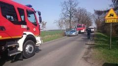 Wypadek w Jasionie 03.04.2016